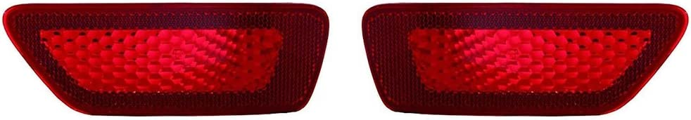 For 2011-2017 JEEP COMPASS Reflector Driver Side DOT Certified For CH1184100 CarLights360