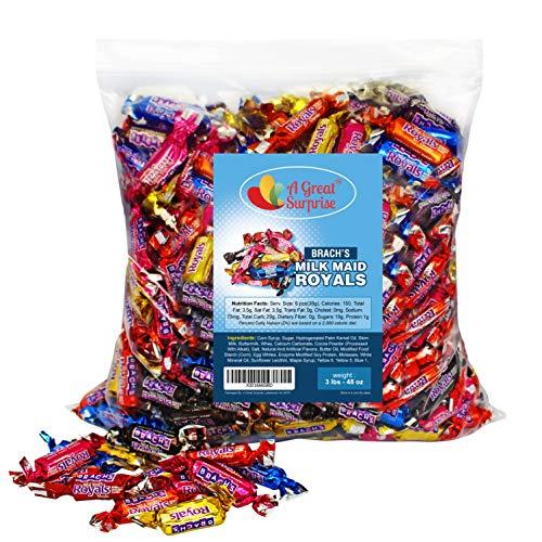 Caramel Candy - Brachs Milkmaid Royals - Brach's Milk Maid Caramels, 3...