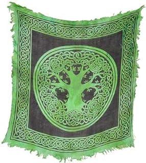 Azure Green RASC93 18 in. x 18 in. Tree of Life
