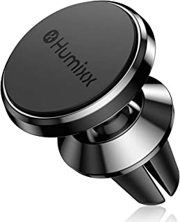 humixx Universal Air Vent Car Mount - 360° Rotation Clip Car Mount Phone Holder with Adjustable Automatic Clamp for iPhone 11 Pro Max XR Xs Max Xs X, Samsung Note 10 Etc (Phone Holder for car, Black)