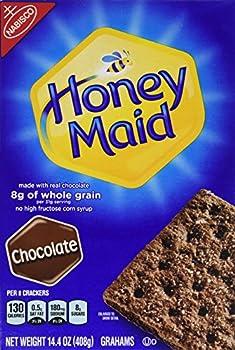 Nabisco Honey Maid Graham Crackers Chocolate 14.4oz Box  Pack of 3