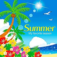 夏のテーマポスター SUMMER(海) 10枚入 / 海・装飾・飾り  8408