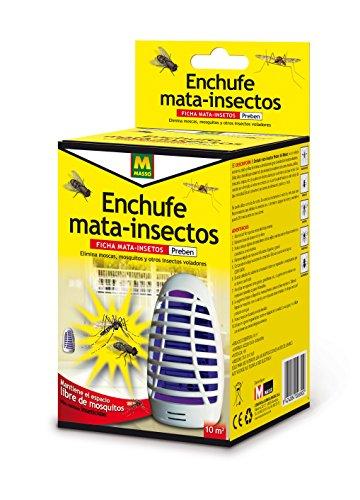 PREBEN 231409 Enchufe Mata Insectos eléctrico, Blanco, 9.6x18.7x10 cm