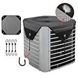 AC Defender, Air Conditioner Units Cover, AC Cover for Outside Central Units, All Season Universal Air Conditioner Cover Mesh, 36' x 36'