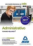 Administrativos de la Diputación Provincial de Jaén. Temario volumen 1