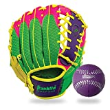 Franklin Sports Teeball Glove - Left and Right Handed Youth Fielding Glove - Meshtek Series - Synthetic...