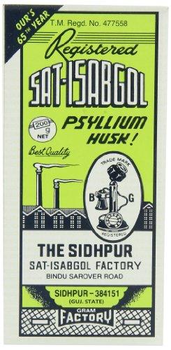 Telephone Sat-isabgol (psyllium Husk), 200-Gram Boxes (Pack of 5)
