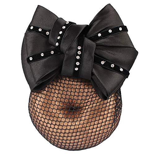 Horka Strass Show Bow Hairnet One Size Black