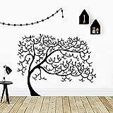 wZUN Lindo árbol Pegatinas de Pared Personalidad Creativa jardín de Infantes habitación de los niños decoración de la Pared calcomanías Pegatinas Creativas 28X35 cm