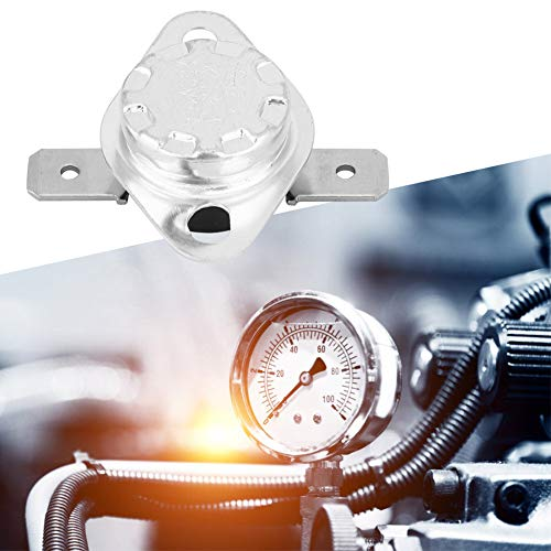 Weikeya Práctico termostato de 250 V de plástico y hierro 15 A.