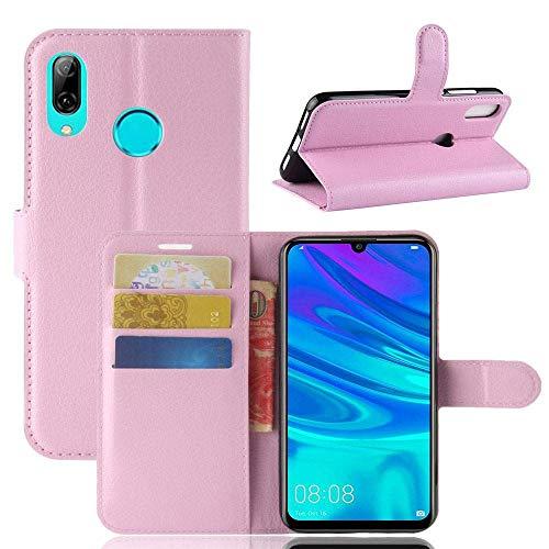 Capa Capinha Carteira 360 Para Huawei P30 Lite Tela De 6.15Polegadas Case Couro Flip Wallet P 30 - Danet (Rosa)