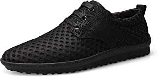 ZUAN Athletic Shoes for Men Sports Shoes Lace Up Style Mesh Substantial Fresh and Breathable Beat Toe