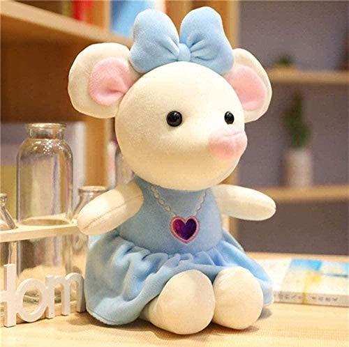 NC56 Juguetes de Peluche para Vestir a Mickey y Minnie Mouse muñecos de Peluche cumpleaños Bodas Regalos para niños bebés Regalos de 35 cm