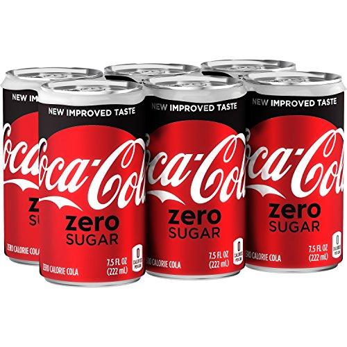 Coca-Cola Zero Soda, 7.5 Fl Oz (pack of 6)