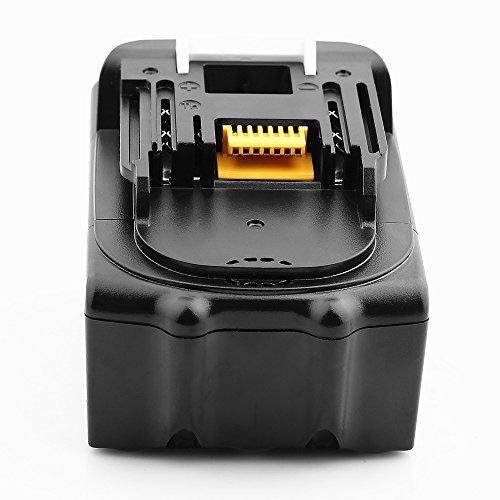 Batería de repuesto para Makit.a 18 V, compatible con Makit.a BL1830 BL1840B BL1850 BL1850B BL1860 BL1835 BL1845 LXT-400 194205-3 194204-5 196673-6
