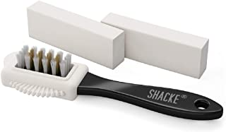 Suede & Nubuck 4-Way Leather Brush Cleaner + 2 Erasers