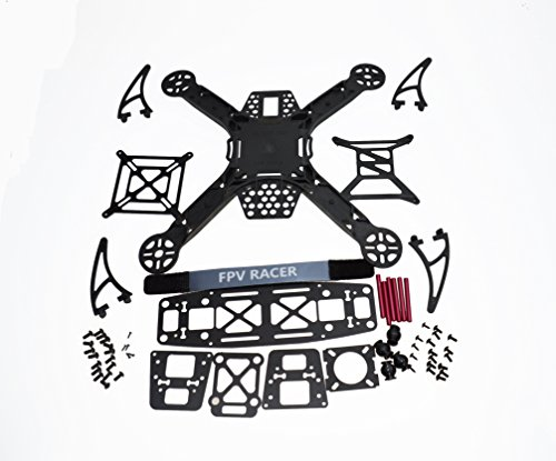 Jrelecs Mini KK 260 RC Quadcopter 4-Axis Aircraft Frame Kit FPV Unassembled Integrated Frame Kit