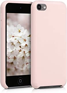 kwmobile Funda Compatible con Apple iPod Touch 6G / 7G (6. und 7.Generation) - Carcasa de TPU para móvil - Cover Trasero en Rosa Palo