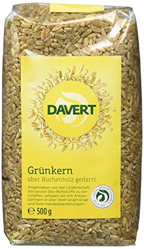 Davert Grünkern, 2er Pack (2 x 500 g) - Bio