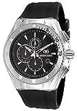 Technomarine 110048 - Reloj de Caballero de Cuarzo, Correa de Caucho Color Negro