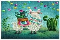 Kcldeciかわいいラマサボテンジグソーパズル子供大人のための500ピースパズル