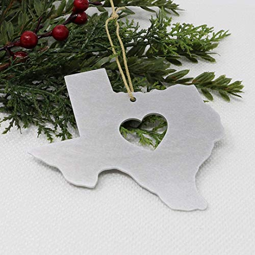 Texas Ornament State Aluminum Metal