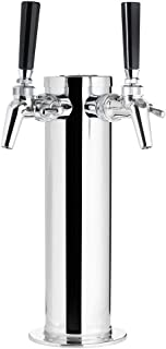 KegWorks Draft Tower - 100% Stainless Steel Contact - 3