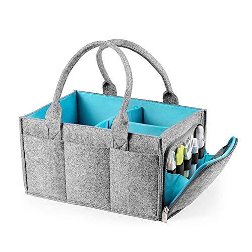 Diaper bag Sac à Couches for bébé, Sac de Poussette bébé et de Stockage Cloison Amovible Panier de Rangement