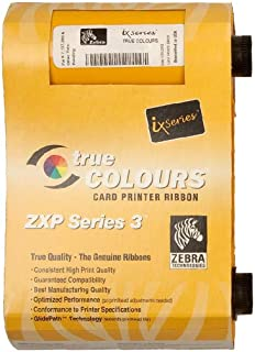 Zebra 800084-918 iSeries Bottom Laminate for Zebra ZXP Series card printers. 625 imprints.