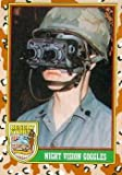 Night Vision Goggles trading card (Desert Storm) 1991 Topps #63