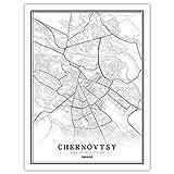 Lonfenner Leinwand Bild,Chernovtsy Ukraine Abstrakte Farbe