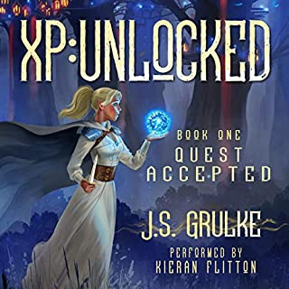 Quest Accepted     XP: Unlocked, Book 1              By:                                                                                                                                 J.S. Grulke                               Narrated by:                                                                                                                                 Kieran Flitton                      Length: 9 hrs and 15 mins     Not rated yet     Overall 0.0