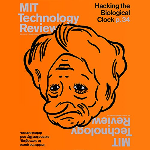 MIT Technology Review, January 2017 audiobook cover art