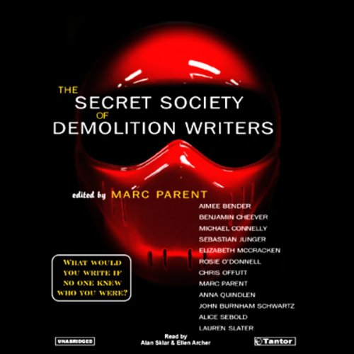 The Secret Society of Demolition Writers audiobook cover art