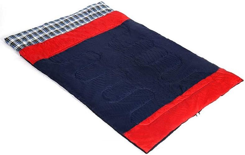 Leger Sac de Couchage Coton de Survie froidimpermeable Sac de couchageSac de Couchage pour Couple Adulte