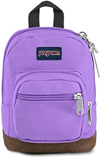 Right Pouch Miniature Backpack - Shrunken Down Tote For Accessories | Purple Dawn