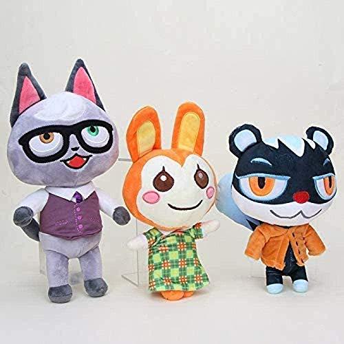 Uymkjv 3 Peluche/Un Set di Bambole di Peluche da 25~28 cm, Animali di Peluche, Bambole di Peluche