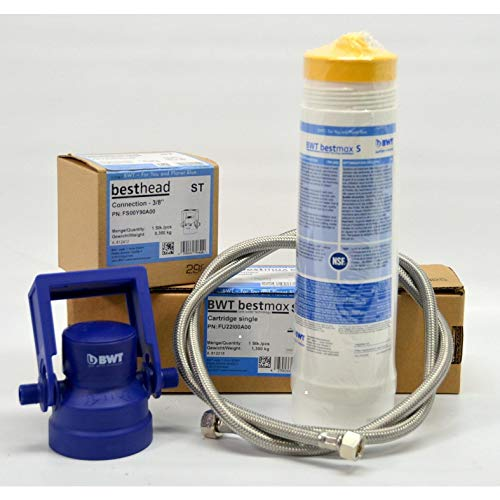tname BWT Bestmax S Wasserfilter-Set, Filterkopf, 3/8 Zoll Schlauch