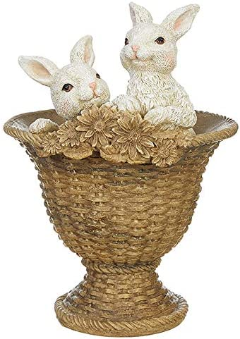 RAZ Imports Enchanted Easter 11 5 Bunnies in Footed Urn product image
