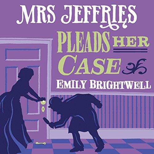 Mrs Jeffries Pleads Her Case audiobook cover art
