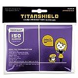TitanShield (150 Sleeve,Purple Small Japanese...