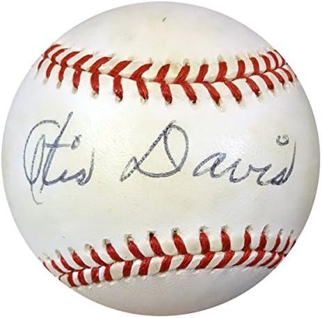 Ranking TOP1 Otis Davis quality assurance Autographed NL Baseball DNA PSA Dodgers #Z33297
