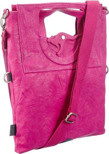KangaROOS JEAN cliffhanger bag (set) B0171, Damen Schultertaschen, Pink (lillipilli), 32x40x3 cm (B x H x T)