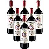 Mago de O3 sin sulfitos Morellino di Scansano DOCG Fattoria Mantellassi (6 botellas 75 cl.)