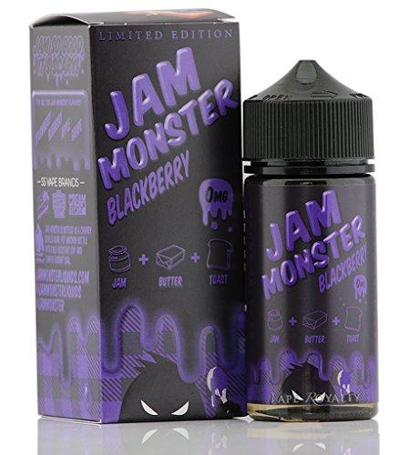 JAM MONSTER ジャムモンスター Blackberry ブラックベリー ジャムバター トースト 朝食 電子タバコ リキッド 100ml