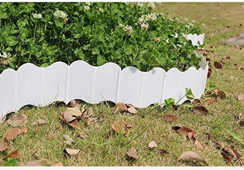 Valla de jardín Panel de camino Decoración de pasillo Paisaje Césped Flor Jardín Planta Borde Plug-in Ajuste de plásticodecoracion jardin