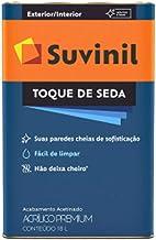 Tinta Suvinil para parede acrilico toque de seda 18L - Gelo - 53422978