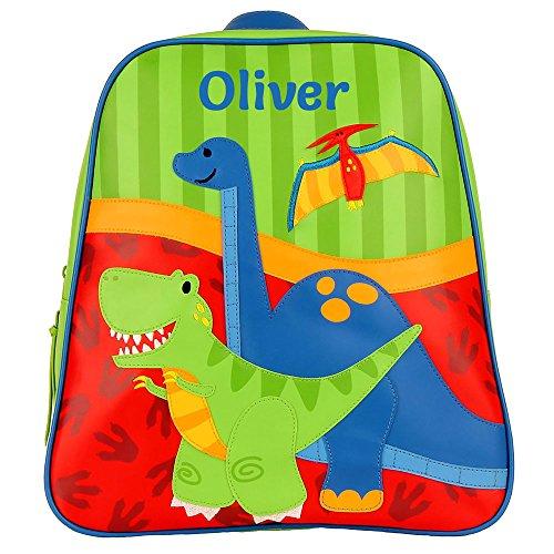 Personalised Children's Dinosaur Backpacks | Personalised by Embroidery Dinosaur Toddler Backpack| Personalised Toddler Backpacks (Dinosaur)