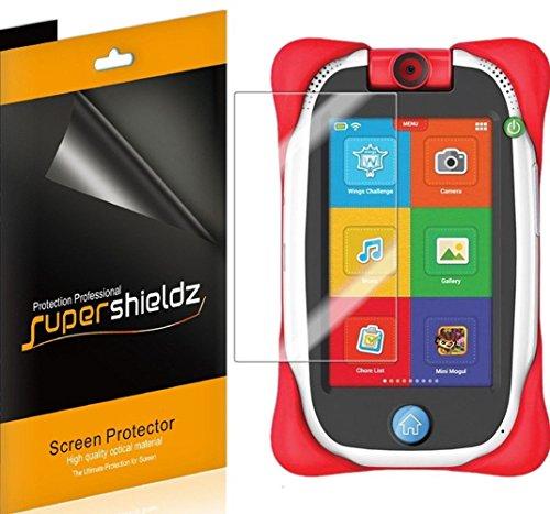 Supershieldz - Protector de visualización para tablet Nabi Jr de 5 pulgadas, protector transparente de alta definición (PET)