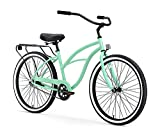 Confortable Assembled Women 5-Speed Beach Cruiser Bike with Front and Back brakers